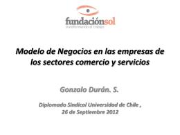 Modelo de Negocios en las empresas de los sectores