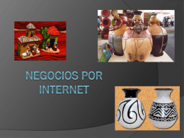 NEGOCIOS POR INTERNET – PYMES 2010