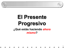 Presente Progresivo - New Providence School District