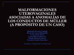 ESTUDIO RM DE LAS MALFORMACIONES …