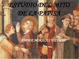 ESTUDIO DEL MITO DE LA PAPISA