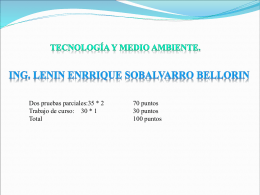 Estudio Ambiental - Ing. Lenin E. Sobalvarro B.