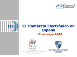 Estudio B2C Madrid, 20 de mayo del 2004