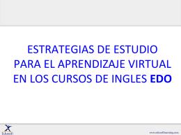 ESTRATEGIAS DE ESTUDIO PARA EL APRENDIZAJE …