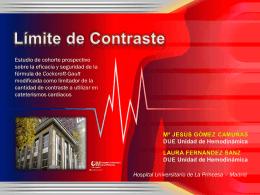 ESTUDIO DE COHORTE PROSPECTIVO SOBRE LA …