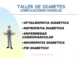 TALLER DE DIABETES COMPLICACIONES CRONICAS