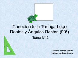 Conociendo la Tortuga del Lenguaje Logo