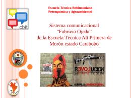 Diapositiva 1 - E.T.R.P.A ALI PRIMERA | Educacion