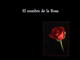 El nombre de la Rosa - XTEC