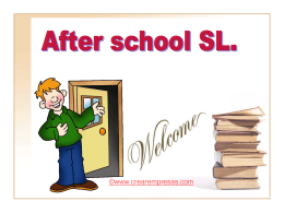 After school - crearempresas.com