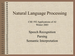 592 PMP AI - Part 7 Natural Language