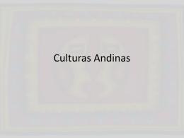 Culturas Andinas - Historia del Arte I