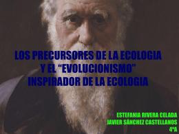 LOS PRECURSORES DE LA ECOLOGIA Y EL …