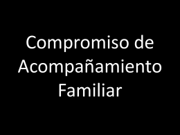 Compromiso Familiar