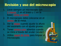 Microscope Use and Review