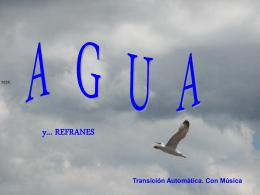 AguaRefranes - Mochila Pastoral