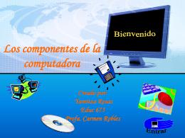Los componentes de la computadora