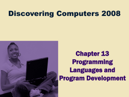 Discovering Computers 2008