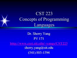 CST 116