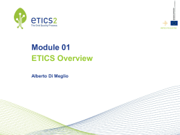 ETICS Overview - Open Grid Forum
