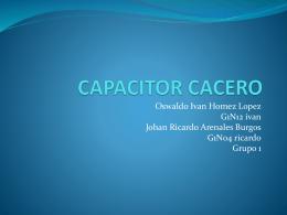 CAPACITOR CACERO