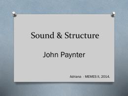 Sound & Structure