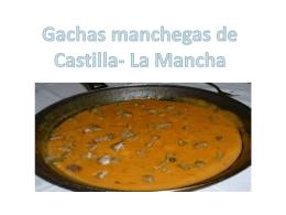 Gachas manchegas de Castilla