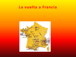 La vuelta de Francia