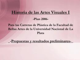 Diapositiva 1 - Facultad de Bellas Artes