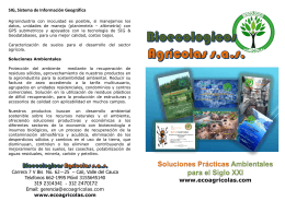 Diapositiva 1 - Ecoagricolas