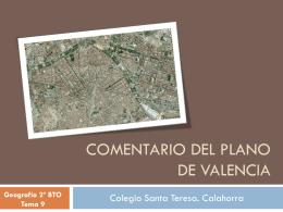 COMENTARIO DEL PLANO DE MADRID