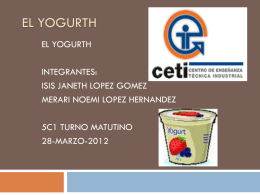 EL YOGURTH