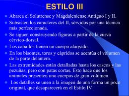 ESTILO III