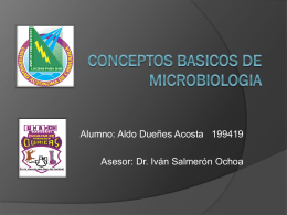 CONCEPTOS BASICOS DE MICROBIOLOGIA