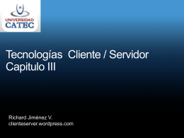 Cliente Server