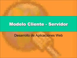 Modelo Cliente