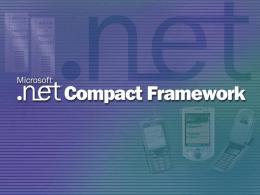 .NET Compact Framework