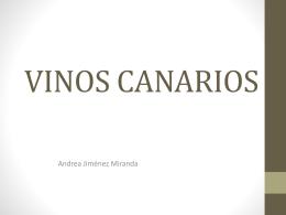 VINOS CANARIOS