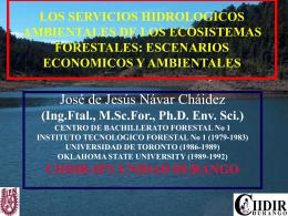 NATURALEZA Y CAUSAS DE DEFORESTACION 1980