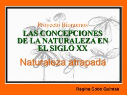 Proyecto Bionomos Concepciones de la Naturaleza