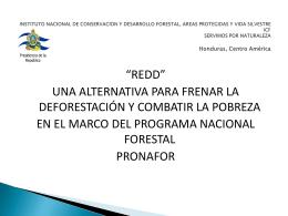 INSTITUTO NACIONAL DE CONSERVACION Y …