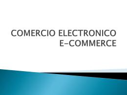 COMERCIO ELECTRONICO E
