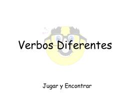 Verbos Diferentes