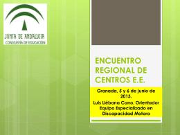 JORNADAS CENTROS E.E.