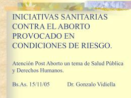 MIENTRAS DISCUTIMOS EL CAMBIO LEGISLATIVO: reducir …