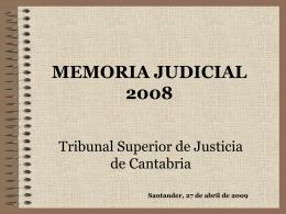 MEMORIA JUDICIAL 2007