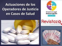Actuaciones de los Operadores de Justicia en Casos de …