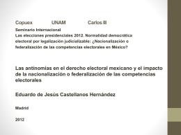 La defensa judicial de la democracia electoral