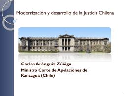 Innovaciones en la Justicia Chilena: sus estrategias, los