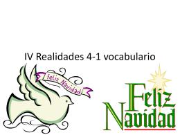 IV Realidades 4